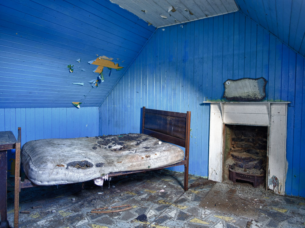 Blue Bedroom, South Uist, 2012  (c) Ian Paterson