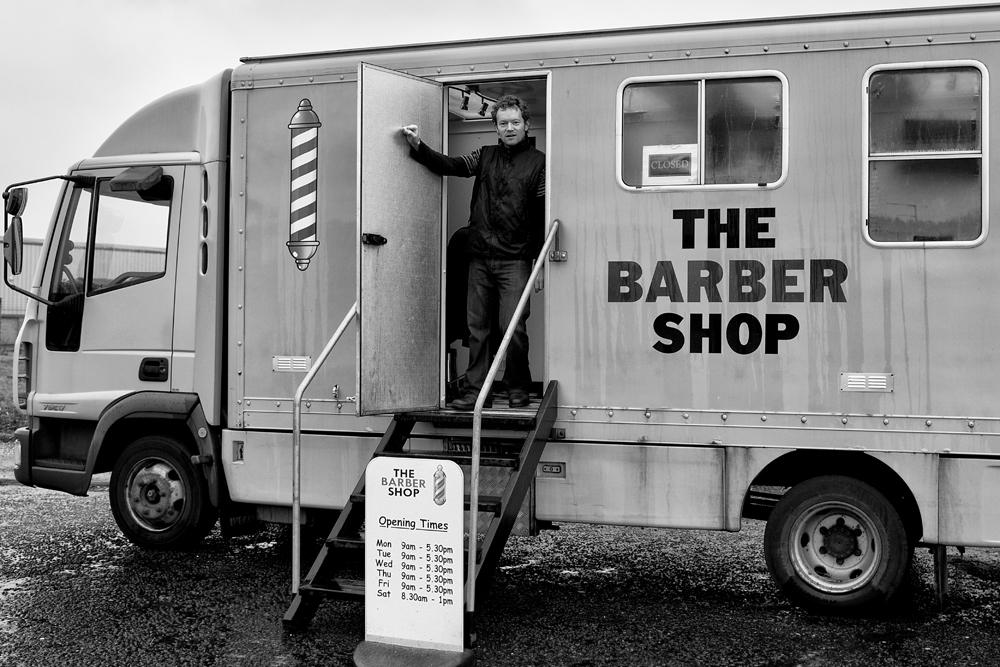 Barber Van, Alan McCredie ©