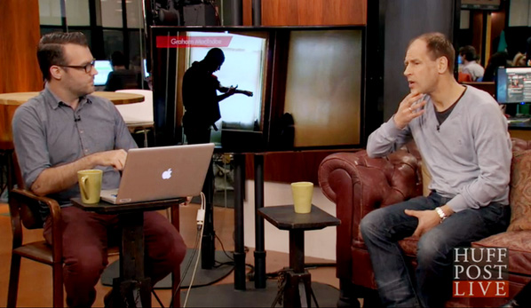 Graham MacIndoe (right) on HuffPostLive.