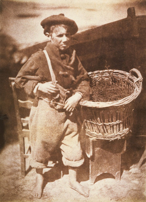 His Father's Breeks. Photograph by D O Hill & R Adamson, 1844.
