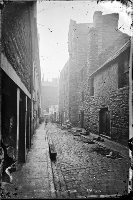 In the Vault, Dundee. Photograph by James Valentine and Sons, ca. 1865s