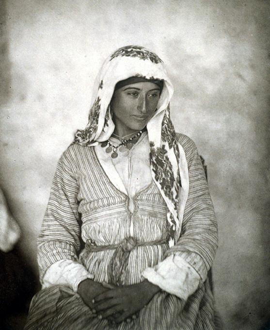 A Cyprian Maid. Photograph by John Thomson, 1878