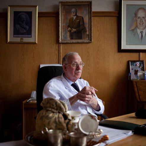 Boyd Tunnock CBE. Photograph by Sophie Gerrard, 2013.