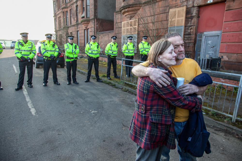 Margaret Jaconelli Eviction Dalmarnock