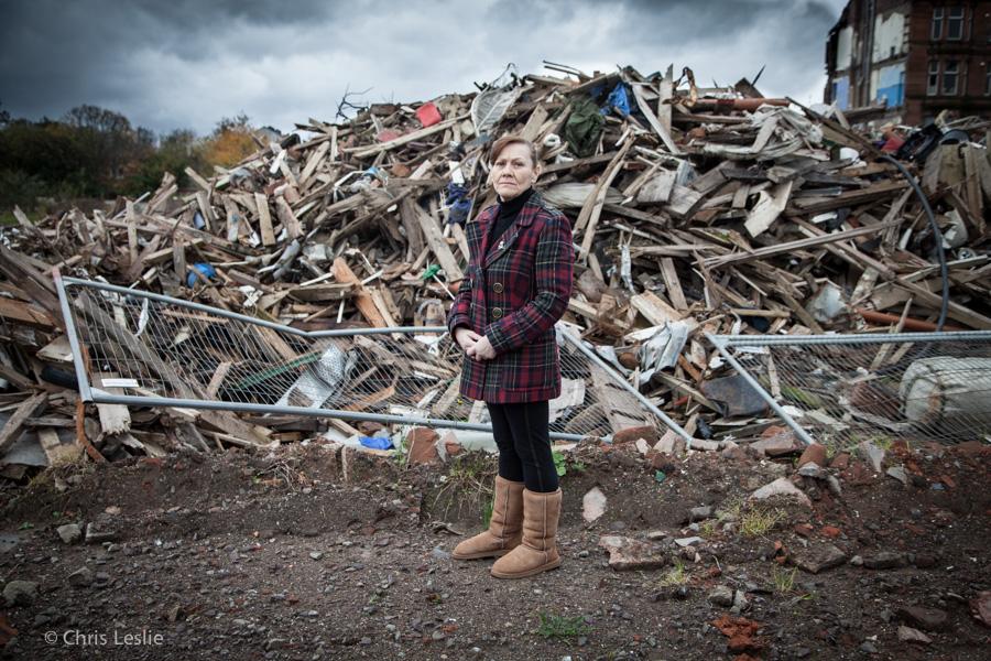 Margaret Jaconelli Eviction Dalmarnock