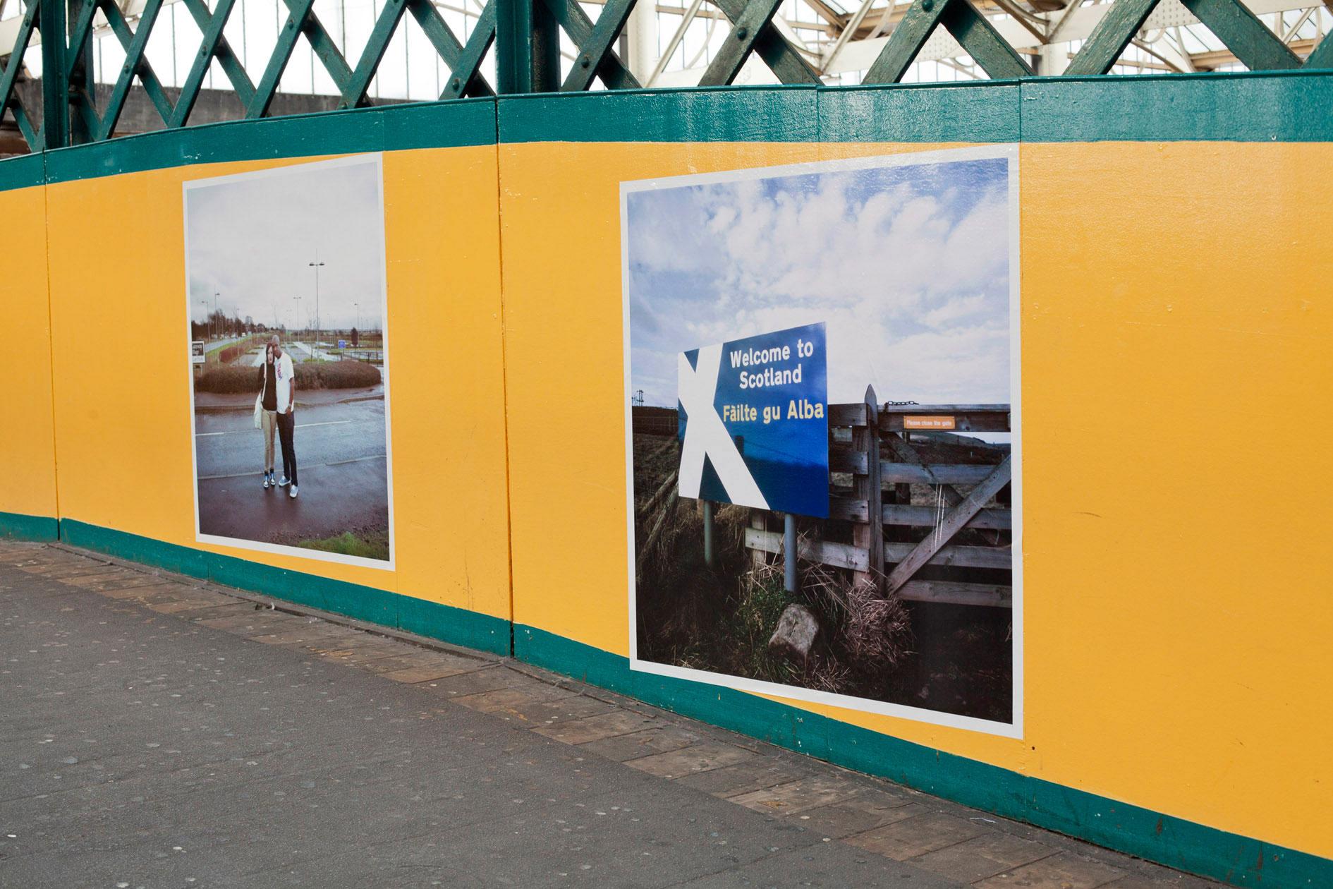 Carlisle Photo Festival Colin McPherson's images from 'A Fine Line' installed at Carlisle Photo Festival © Streetlevel Photoworks November 2014© Streetlevel Photoworks November 2014