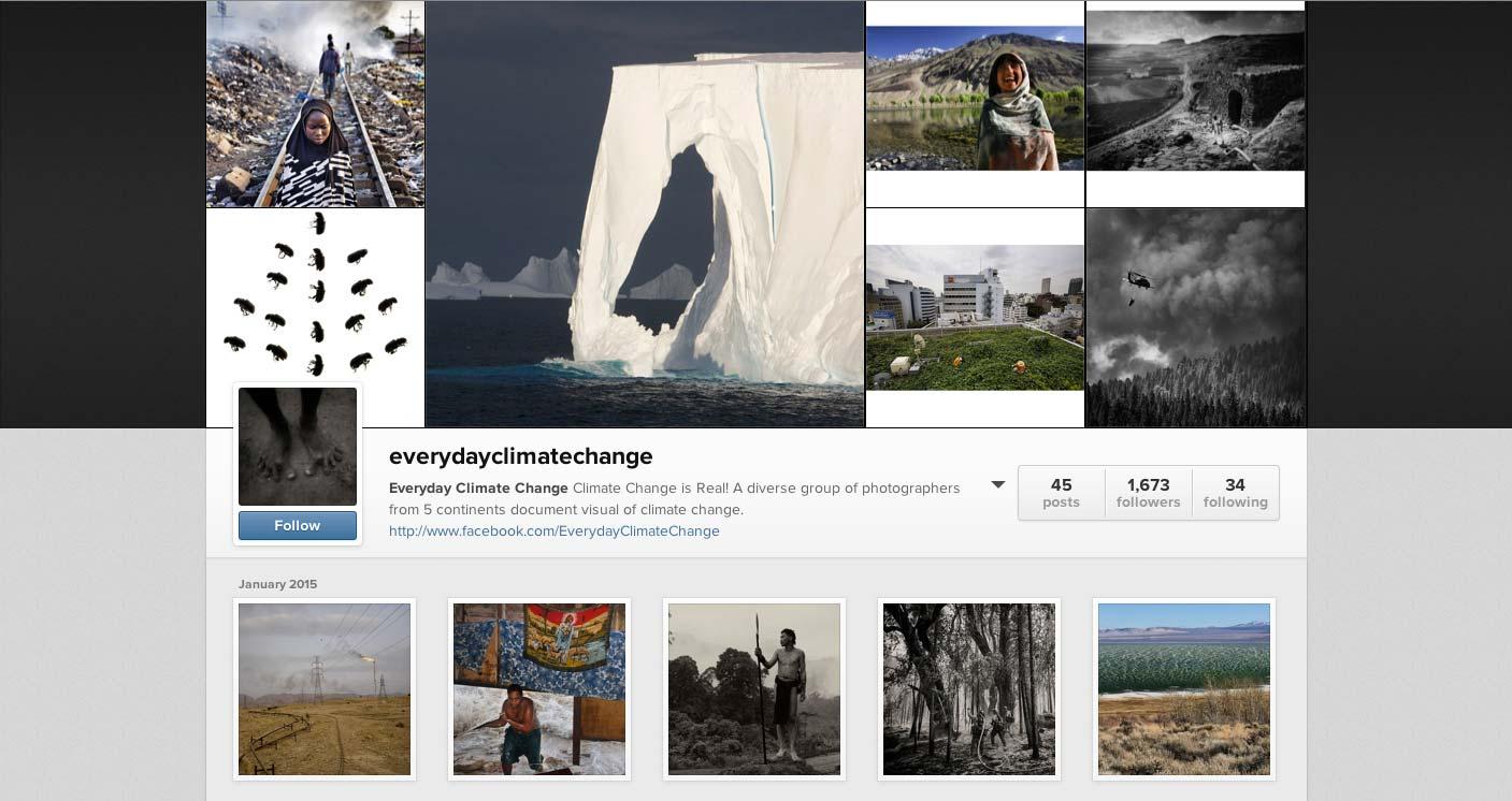 @EverydayClimateChange on Instagram.