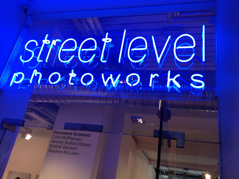 Common Ground photography exhibition at Street Level Photoworks,  in Glasgow, Scotland 28 August 2014