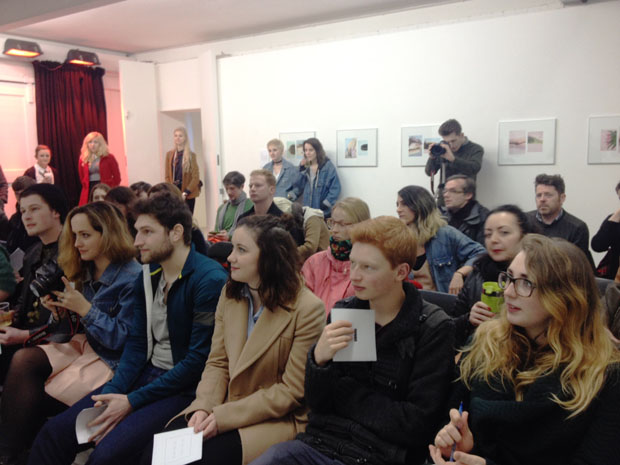 The audience at the panel event. ©Jeremy Sutton-Hibbert 2015, all rights reserved.