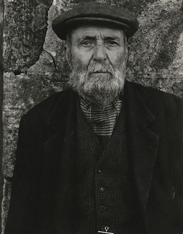 Paul Strand (1890-1976). Norman Douglas, South Uist, Hebrides, 1954 Photograph (gelatine silver print): 14.6 x 11.4 cm Scottish National Portrait Gallery © Aperture Foundation Inc., Paul Strand Archive