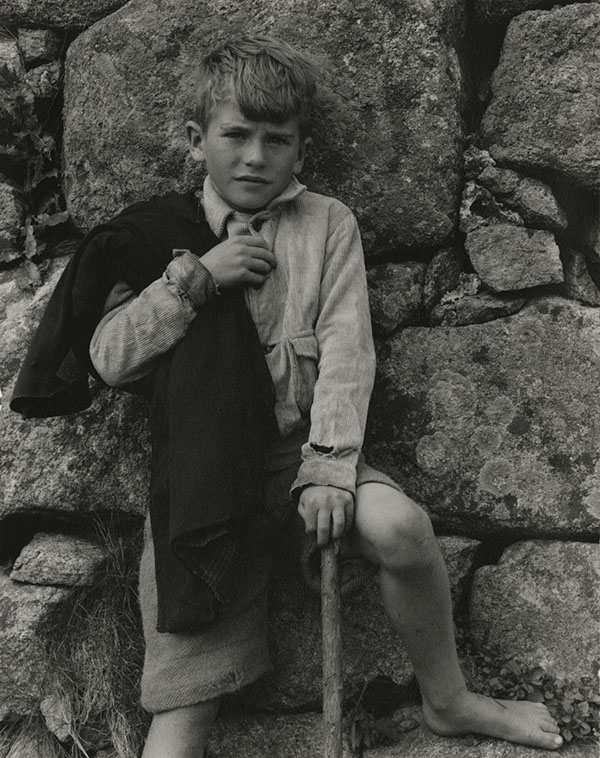 Paul Strand (1890-1976). John Angus MacDonald, South Uist, Hebrides, 1954 Photograph (gelatine silver print): 14.6 x 11.4 cm Scottish National Portrait Gallery © Aperture Foundation Inc., Paul Strand Archive