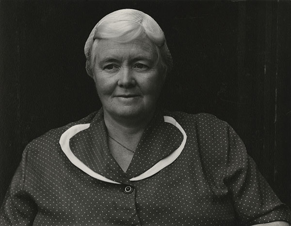 Paul Strand (1890-1976) Mrs. Archie MacDonald, South Uist, Hebrides, 1954 Photograph (gelatine silver print): 11.4 x 14.6 cm Scottish National Portrait Gallery © Aperture Foundation Inc., Paul Strand Archive