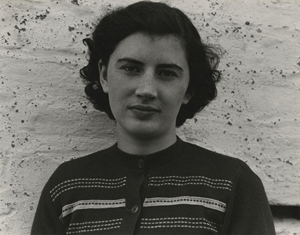 Paul Strand (1890-1976) Peggy MacDonald, South Uist, Hebrides, 1954 Photograph (gelatine silver print): 11.4 x 14.6 cm Scottish National Portrait Gallery © Aperture Foundation Inc., Paul Strand Archive