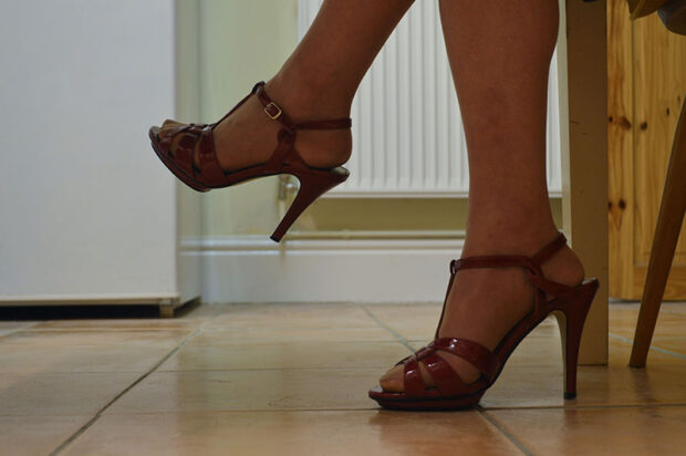 My father's frst pair of heels are still her favourite. From 'Mother, Father' by Lucie Rachel. ©Lucie Rachel 2015, all rights reserved.