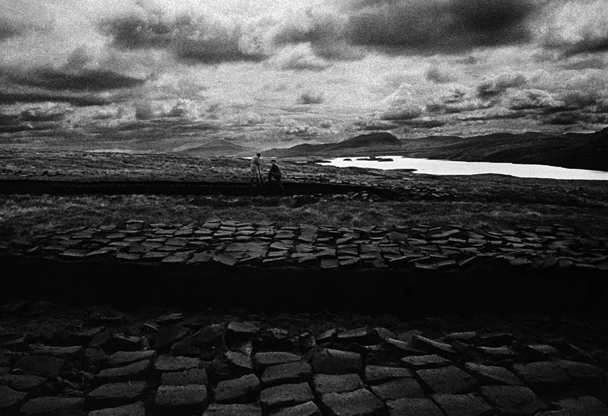 Peat cutters, Lewis, 1996. Photograph © Colin McPherson, all rights reserved.