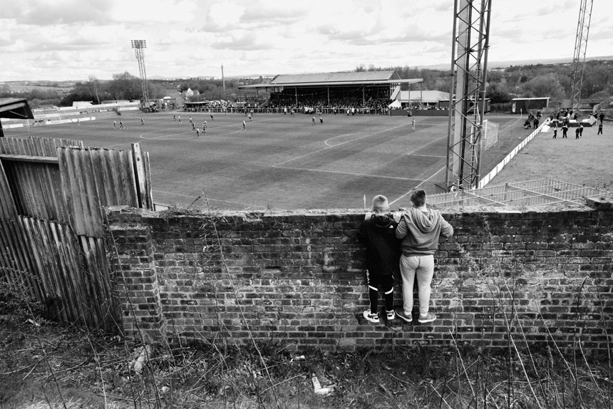Albion Rovers v Arbroath, 2014. Photograph © Iain McLean, all rights reserved