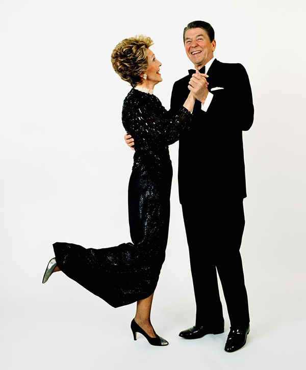 Reagan's Dance, copyright Harry Benson 1985