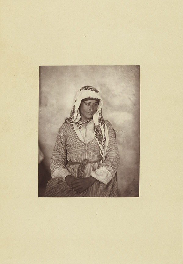 'Through Cyprus with a Camera, Vol 1, Cypriot Maid', by John Thomson
