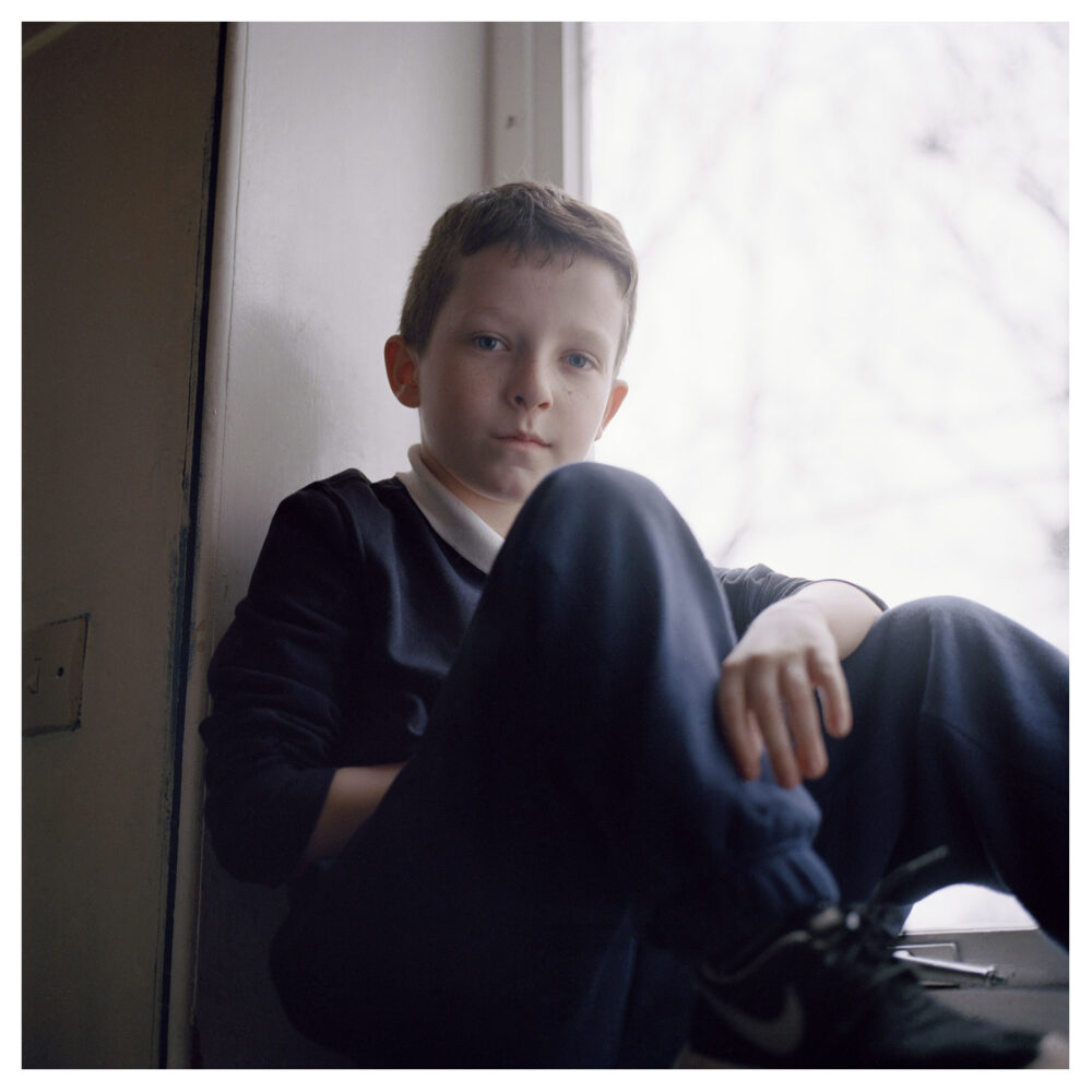 Connor, Edinburgh, 2015, from the Series Be, Still © Mairead Keating all rights reserved.