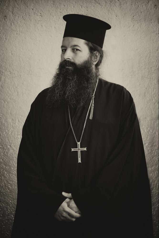 Greek Orthodox Priest, Alan McCredie ©