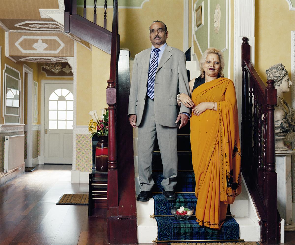 Vishnu and Lakshmi (Mr & Mrs Parkash)