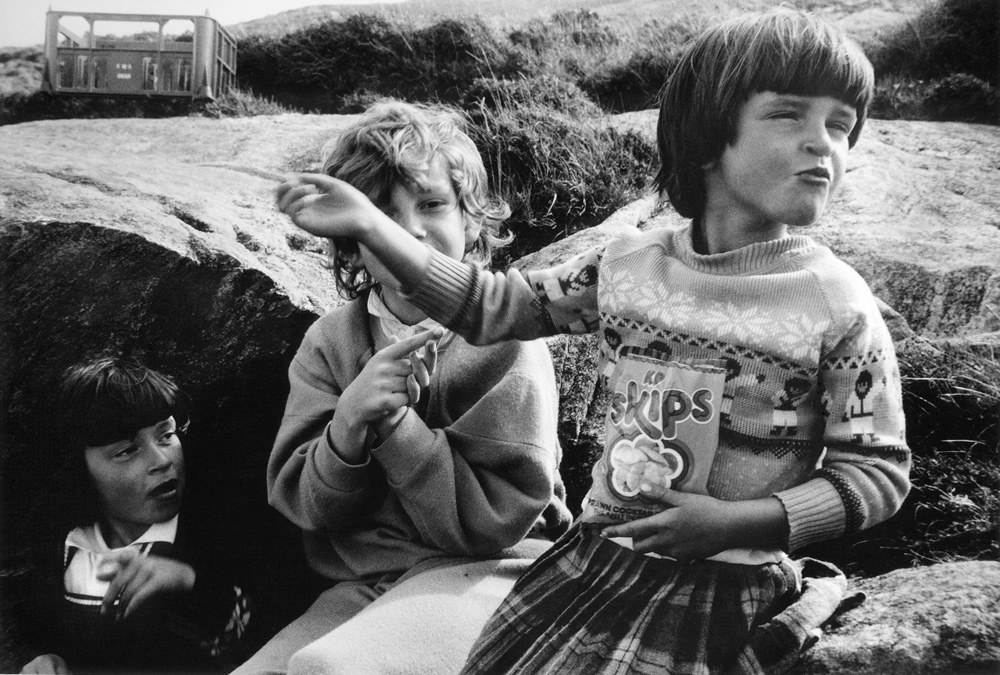 Toots, Catriona and Maggie, 1985. ©Paul Glazier 1985, all rights reserved.