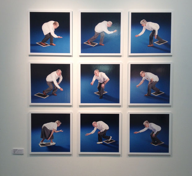 Robin Mitchell's 'Into The Blue - Portrait Series of Bowlers'.