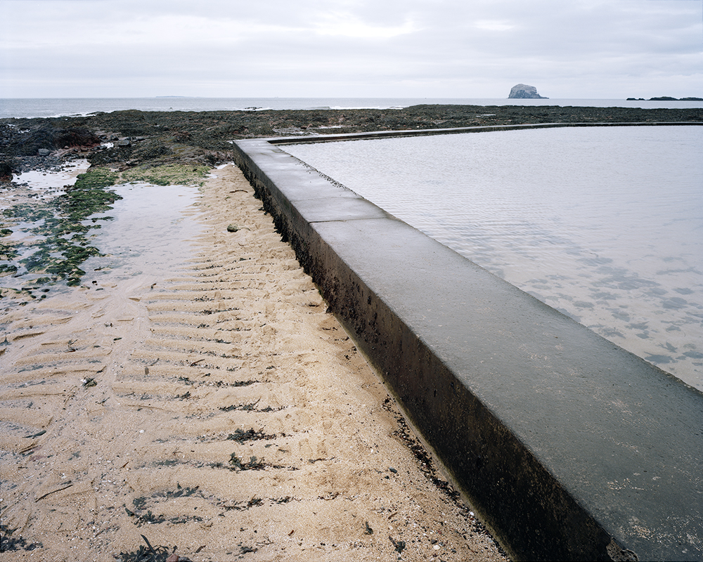 North Berwick Tidal Pool, East Lothian, Scotland. ©Luke Brown 2014.