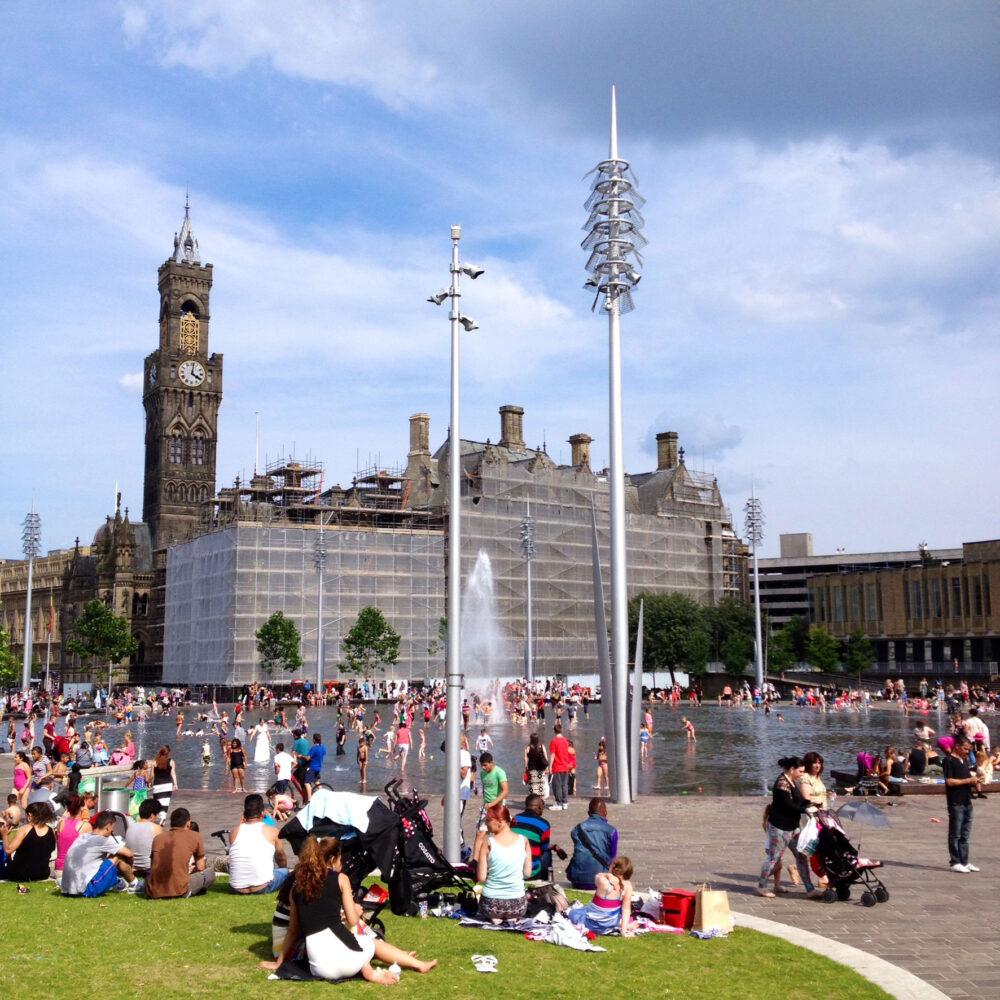 Bradford sunshine image © Colin McPherson 2014