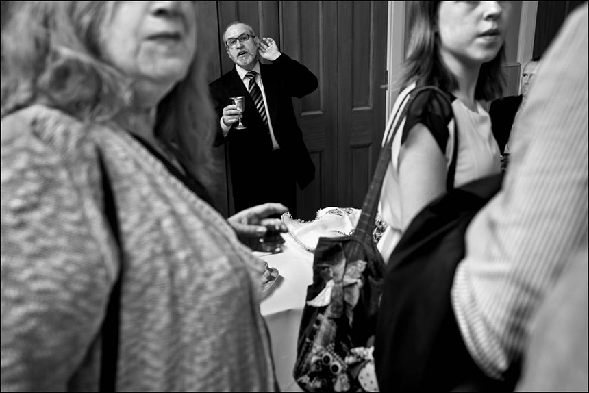 The Rabbi of Edinburgh's Liberal congregation. Photograph © Judah Passow, 2013.