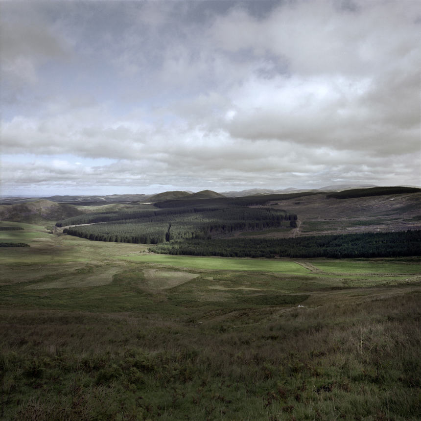 'Site of the Battle of Redeswire, 2013' from 'A Fine Line - Exploring Scotland's Border with England' © Colin McPherson, 2013, all rights reserved.