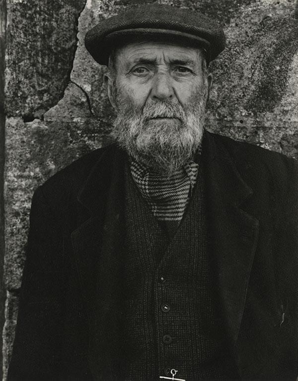 Paul Strand (1890-1976). Norman Douglas, South Uist, Hebrides, 1954 Photograph (gelatine silver print): 14.6 x 11.4 cm Scottish National Portrait Gallery © Aperture Foundation Inc., Paul Strand Archive