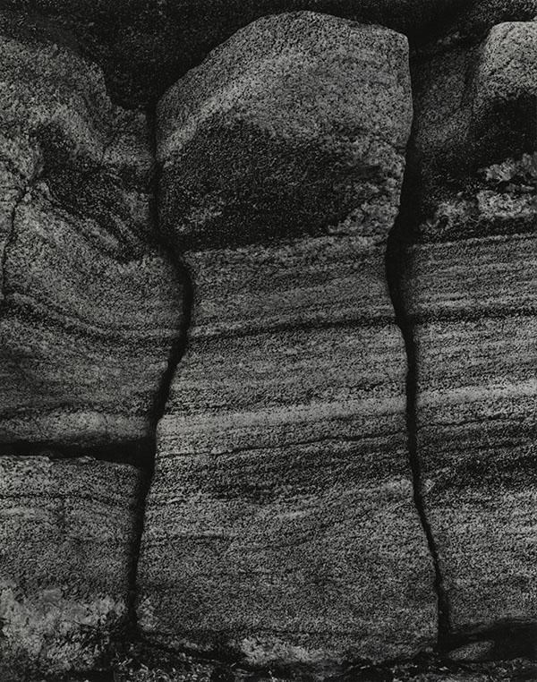 Paul Strand (1890-1976) Rock by the Sea, South Uist, Hebrides, 1954 Photograph (gelatine silver print): 24.1 x 19.3 cm Scottish National Portrait Gallery © Aperture Foundation Inc., Paul Strand Archive