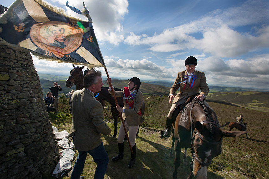 Common Riding, Selkirk. Photograph © Jeremy Sutton-Hibbert, 2013 all righted reserved.