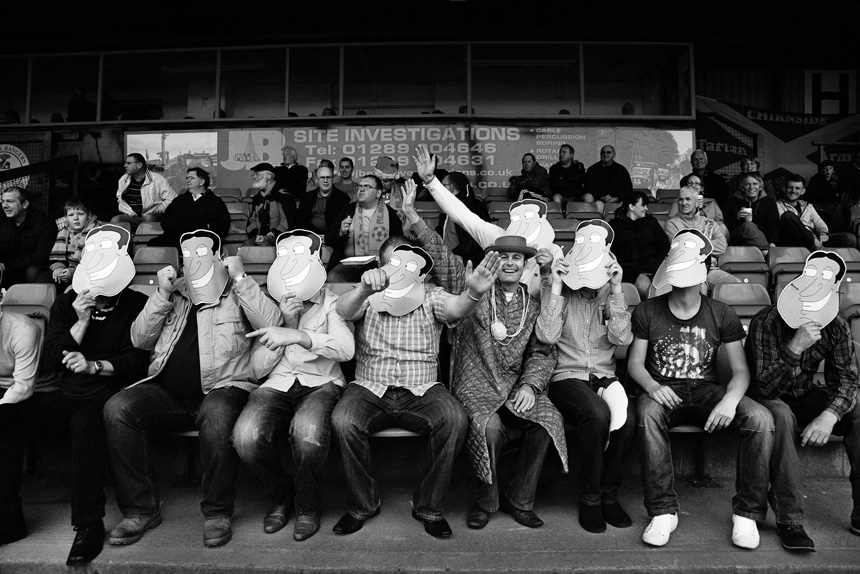 Berwick Rangers v Albion Rovers, 2011. Photograph © Iain McLean, all rights reserved