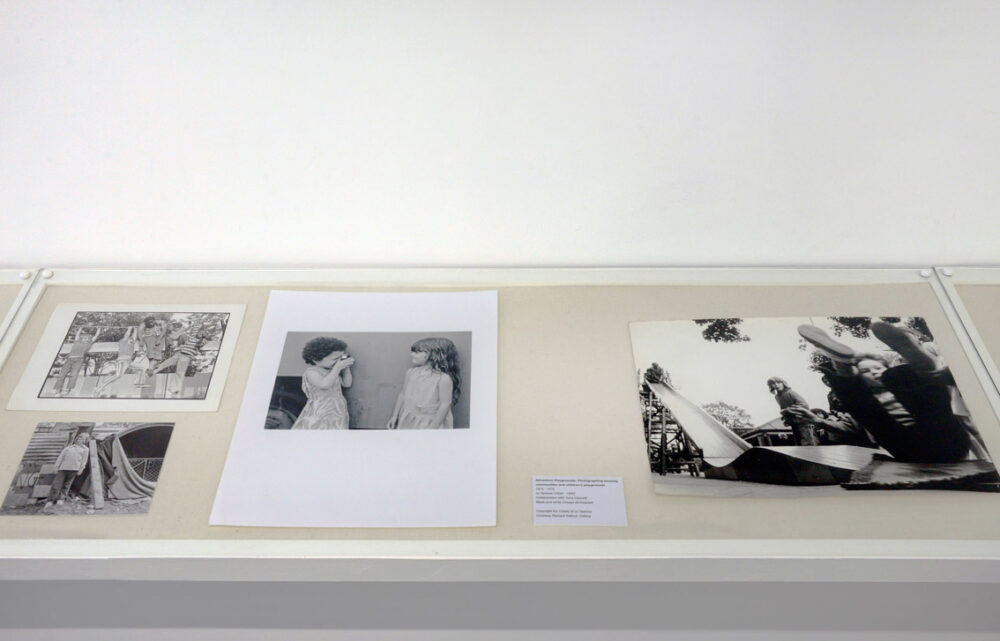 Children's Educational Work , 1973-75 Jo Spence in collaboration with Terry Dennett Installation view at Stills, Edinburgh, 2016 Courtesy the Estate of Jo Spence and Richard Saltoun Gallery Photo © Alan Dimmick