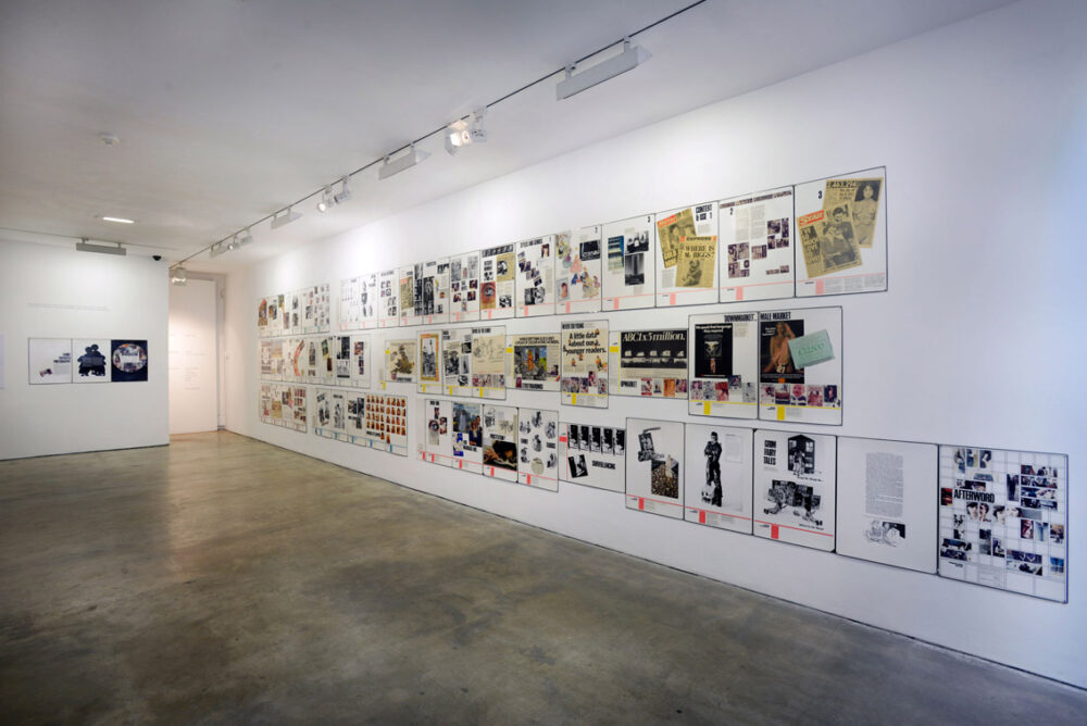 Family, Fantasy & Photography, (1981) by The Polysnappers Installation view at Stills, Edinburgh, 2016 Courtesy Mary Ann Kennedy, Jane Munro, Charlotte Pembrey and Jo Spence Photo © Alan Dimmick