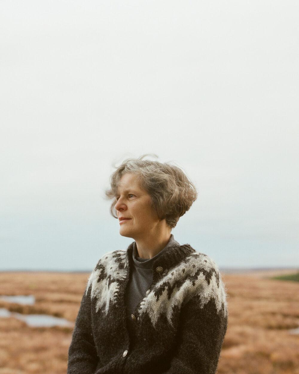 Caroline, peatlands management, from the series 'The Flows' © Sophie Gerrard 2019