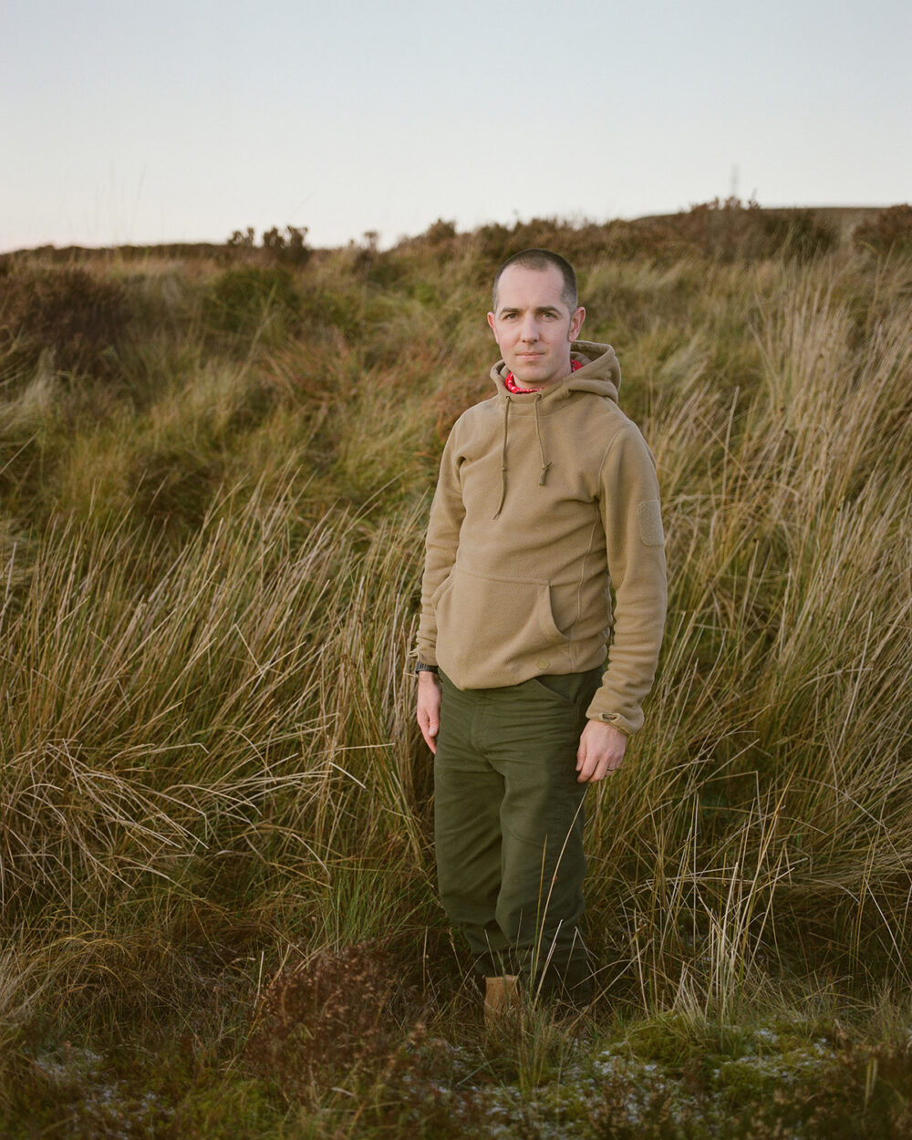 Paul, RSPB warden, from the series 'The Flows' © Sophie Gerrard 2019